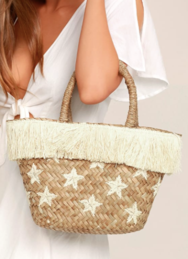 Lulu's Straw Bag